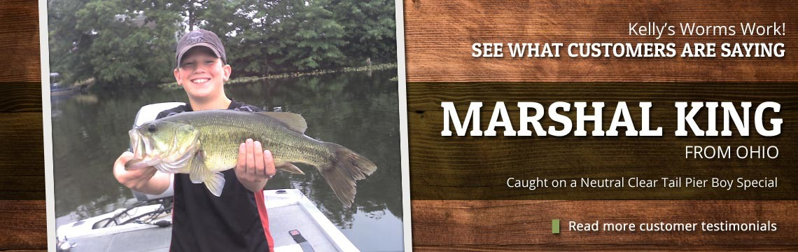 See What Customers Are Saying About Kelly's Bass Worms